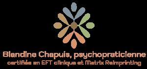 Blandine Chapuis, psychopraticienne certifiée EFT clinique et Matrix Reimprinting